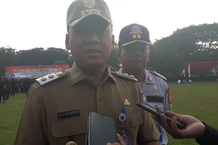 Wakil Wali Kota Jakarta Timur Uus Kuswanto di Lapangan Museum Purna Bhakti Pertiwi, Selasa (28/5/2019).