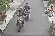 Curi Motor di Kembangan, Aksi 2 Maling Terekam Kamera CCTV