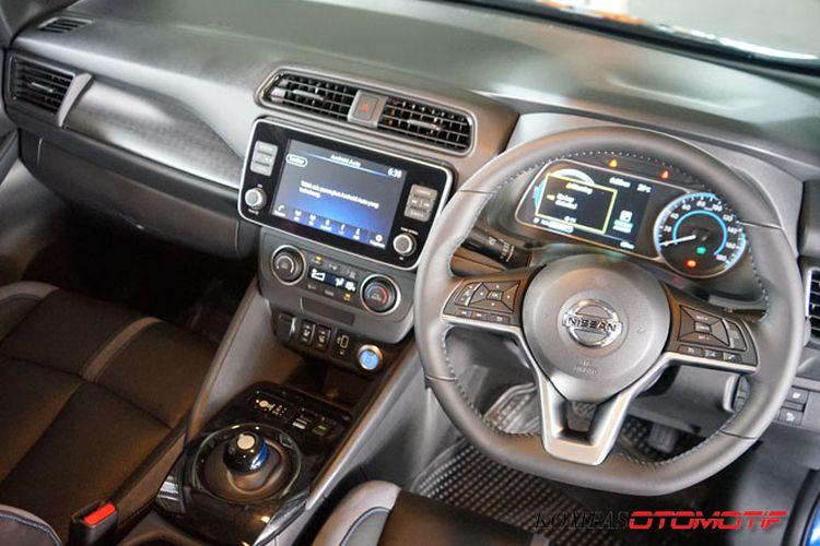 Interior Nissan Leaf
