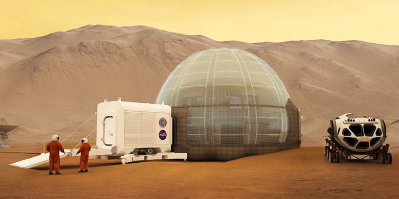 Rancangan rumah Mars milik NASA
