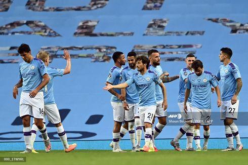 Man City Vs Burnley, The Citizens Pesta 5 Gol di Etihad