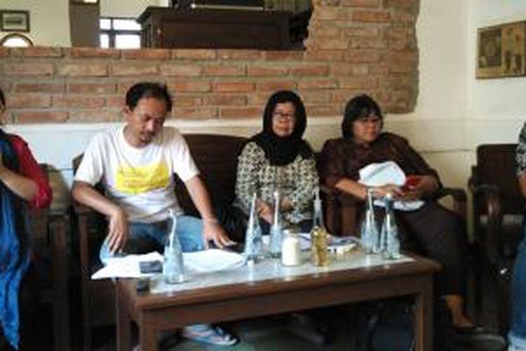 Forum Demokrasi Digital saat berdiskusi di Jakarta, Rabu (26/8/2015)