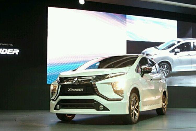 Tampilan Mitsubishi Xpander. (KOMPAS.com/Tiara Fitriyani)
