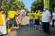 Airlangga Apresiasi Kader Golkar yang Percayakan 37 Hewan Kurban ke DPP Golkar