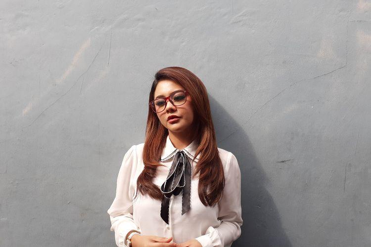 Jenita Janet saat ditemui di kawasan Mampang, Jakarta Selatan, Kamis (9/1/2020).