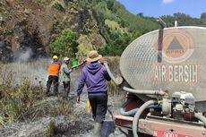 Kebakaran 14 Hektar Lahan di Kawasan Bromo Terjadi di 2 Titik, Penyebabnya Belum Diketahui