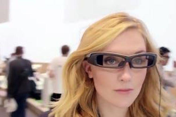 Kacamata pintar Sony SmartEyeglass