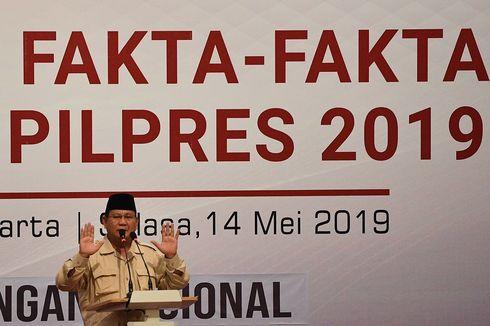 Prabowo Gelar Rapat di Kertanegara, Bahas Penetapan Hasil Pilpres 2019