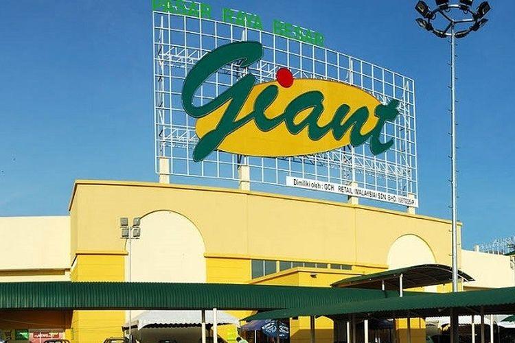 Ilustrasi supermarket Giant.