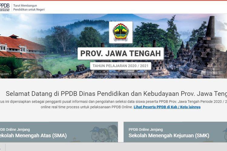 PPDB Jateng 2020