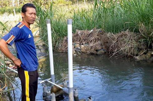 Pipa dan Ban Dalam Bekas Disulap Jadi Pompa Air Non-listrik untuk Atasi Kekeringan