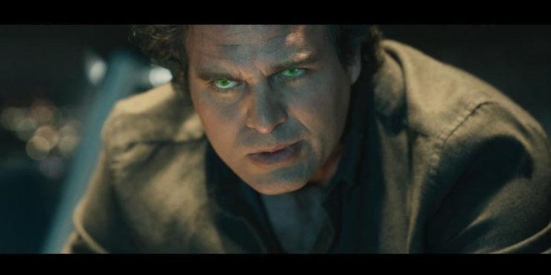 Mark Ruffalo beraksi dalam Avengers: Age of Ultron (2015)