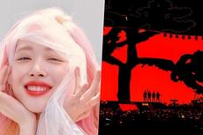 Gelar Konser di Korea Selatan, U2 Tampilkan Wajah Mendiang Sulli