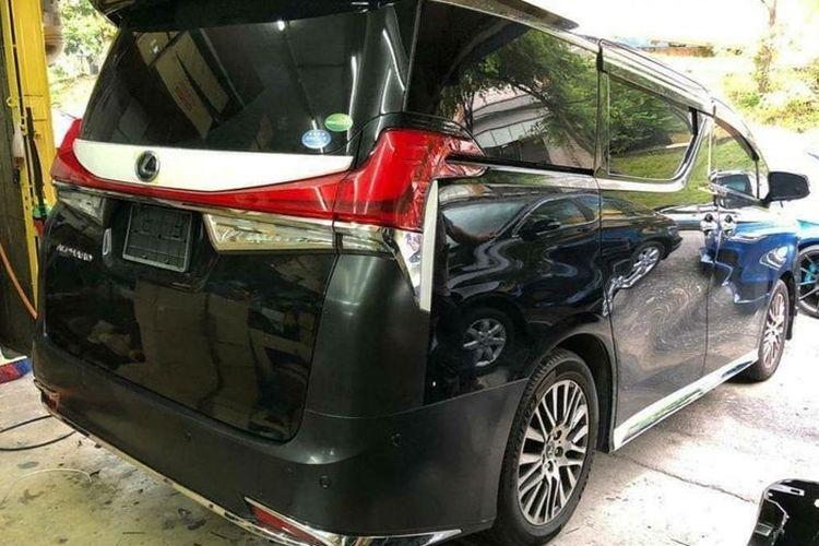 Convert body Toyota Alphard ke Lexus LM 350