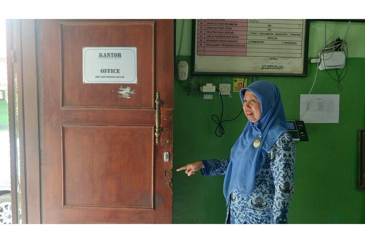 Sekolah SDN Kayuringin 3 Bekasi dibobol, Senin (17/2/2020).
