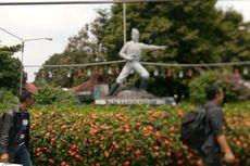 Pemkot Bogor Bongkar Plaza Taman Topi untuk Bangun Alun-alun