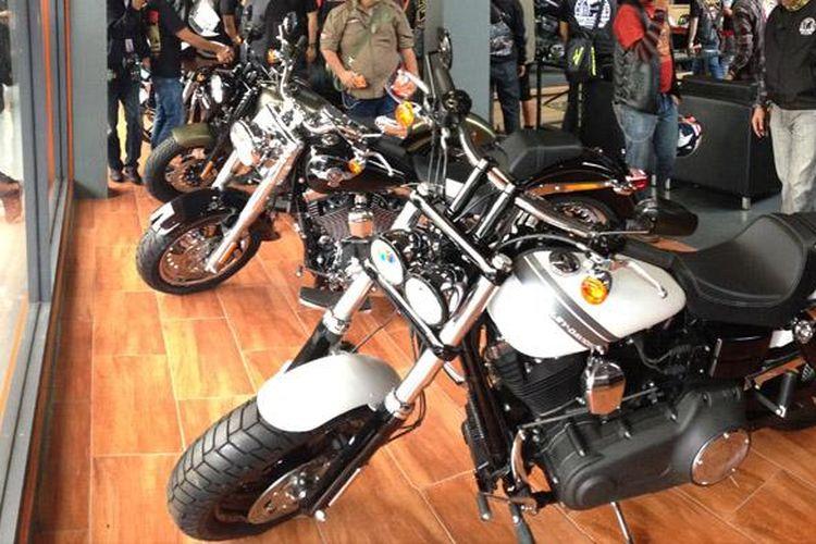 Diler Anak Elang Harley-Davidson of Jakarta yang berlokasi di Kelapa Gading, Jakarta Utara.