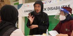 Dompet Dhuafa Bersama GKR Indonesia Gelar Vaksinasi untuk Panyandang Disabilitas di Yogyakarta