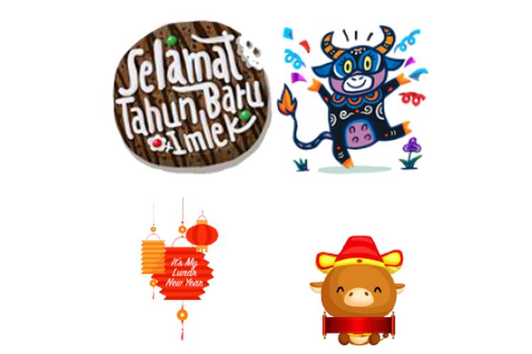 Facebook hadirkan stiker baru bertemakan Kerbau Logam