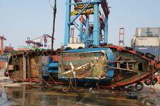 Nakhoda Kapal Terbalik di Pelabuhan Tanjung Priok Ditemukan Tewas