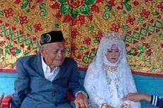 Kisah Kakek 103 Tahun Nikahi Gadis 30 Tahun, Mantan Pejuang Kemerdekaan, Dipapah ke Pelaminan