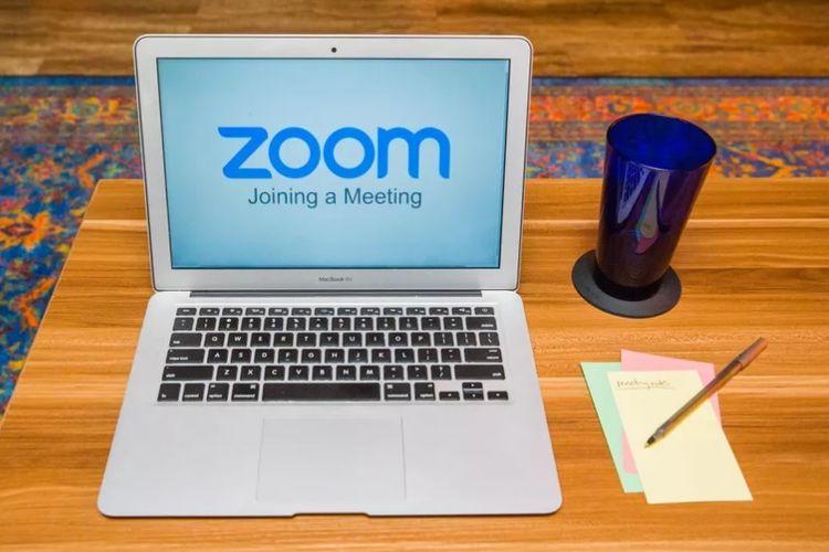 ilustrasi aplikasi Video Conference Zoom 3