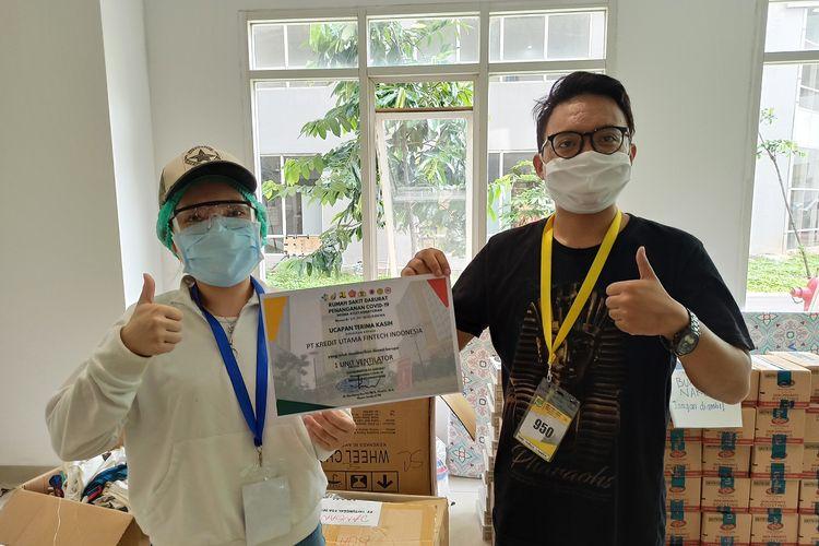 PT Kredit Utama Fintech Indonesia (KUFI) penyelenggara financial technology (fintech) Rupiah Cepat mendonasikan ventilator kepada Rumah Sakit Darurat (RSD) Wisma Atlet Kemayoran