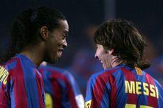 Bagi Ronaldinho, Messi Bukan Pemain Terbaik Sepanjang Masa