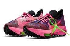 Kolaborasi Off-White x Nike, Sepatu dengan Warna 'Ngejreng'