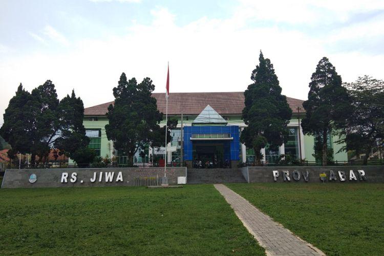 Rumah Sakit Jiwa Provinsi Jabar, Jalan Kolonel Masturi, Kecamatan Cisarua, Kabupaten Bandung Barat.