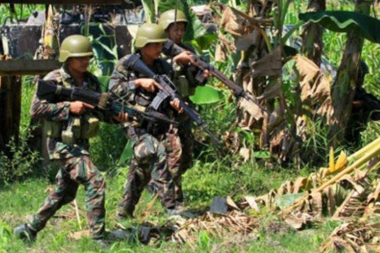 Tentara Filipina.