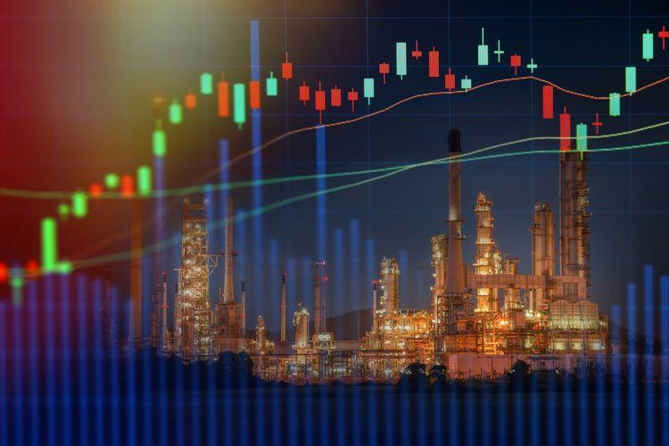 Ilustrasi harga minyak