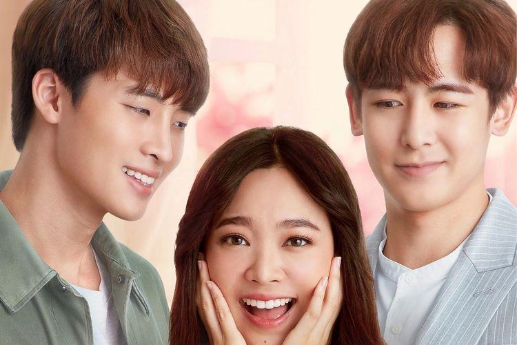 Poster drama Thailand My Bubble Tea yang dibintangi Nichkhun 2PM.