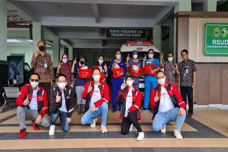 Main Dealer Astra Motor  Yogyakarta berbagi bingkisan gratis untuk tenaga kesehatan