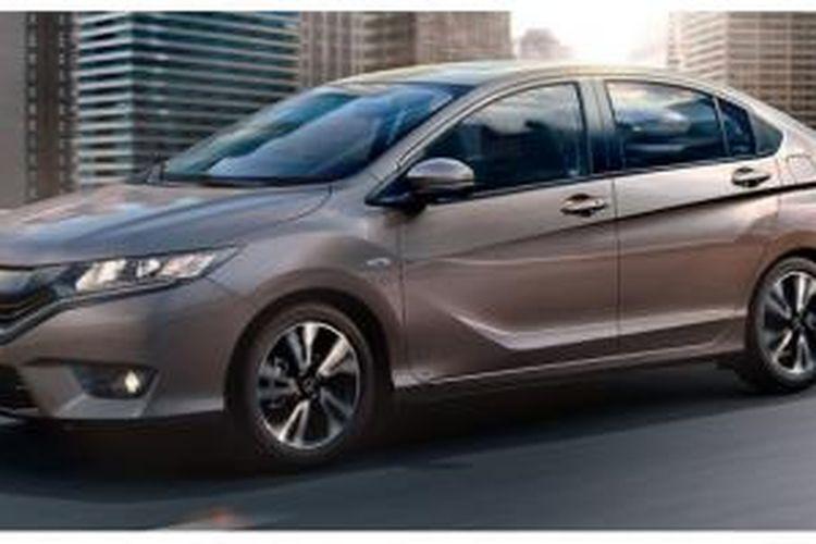 Tampang Honda Greiz, kembaran City untuk China.