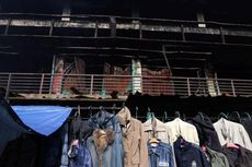 Polisi Kembali Olah TKP Kebakaran Pasar Senen
