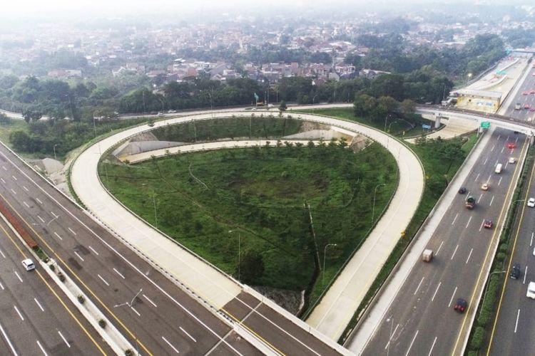 Jalan Tol Cimanggis-Cibitung.