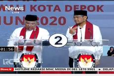 Debat Pilkada Depok, Idris Janji Maksimalkan Pajak Restoran dan Parkir