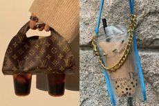 Desainer Jepang Bikin Tas LV dan Dior Khusus untuk Bawa Bubble Tea