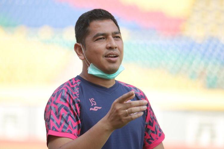 Kepala Department Football Performance PS Sleman Jan Saragih