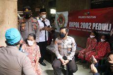 Perjuangan Polisi dan Tim Medis Tempuh Jalur Terjal demi Memvaksin Warga Tunanetra di Pelosok Pacitan