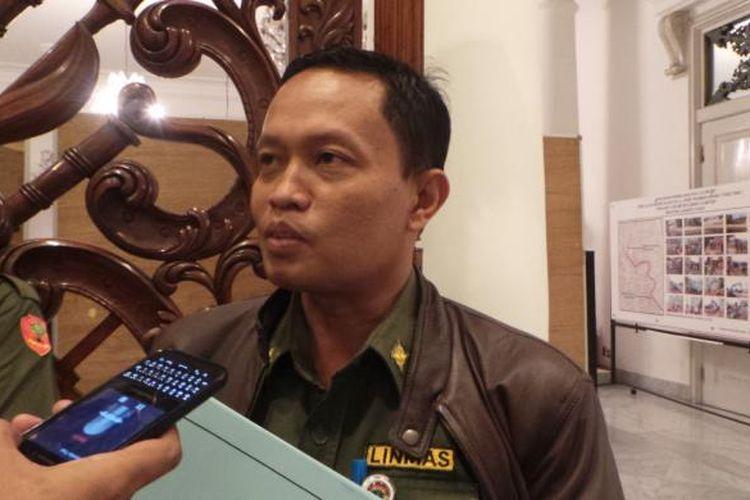 Kepala Dinas Lingkungan Hidup DKI Jakarta Isnawa Adjie.