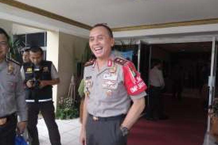 Kapolda Metro Jaya, Irjen Pol Mochamad Iriawan saat di Mapolda Metro Jaya, Rabu (16/11/2016).