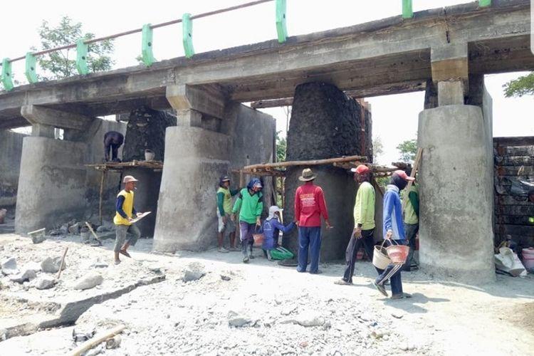 Pembangunan Dam Sidodadi.