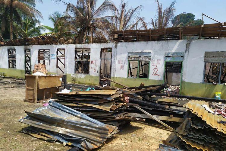 Dilalap Si Jago Merah, Ponpes di Kabupaten Kampar Terima Bantuan Renovasi