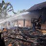 Ditinggal Ambil Bansos ke Balai Desa, 2 Rumah Ludes Terbakar