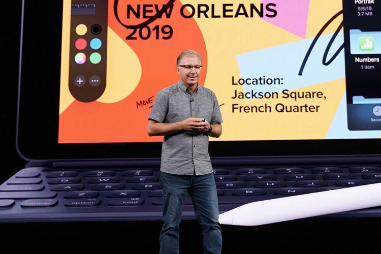Greg Joswiak menggantikan Phil Schiller sebagai senior wakil presiden marketing global Apple.