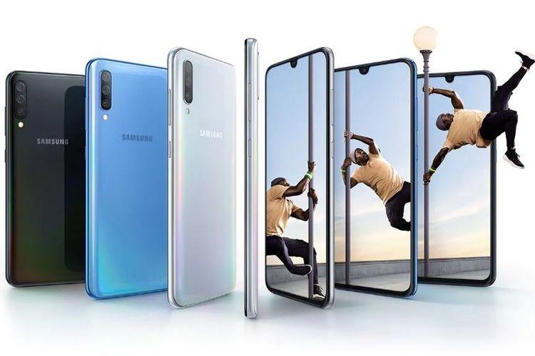 Ilustrasi Samsung galaxy A70