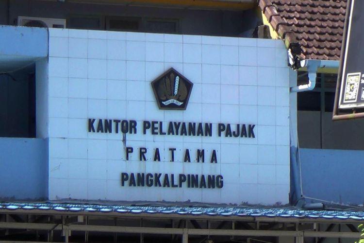 KPP Pajak Pangkal Pinang, Kepulauan Bangka Belitung.