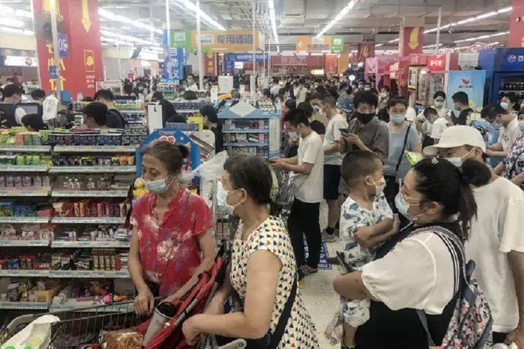 Covid-19 di Wuhan 'Muncul' Lagi, Seluruh Warga Diperiksakan